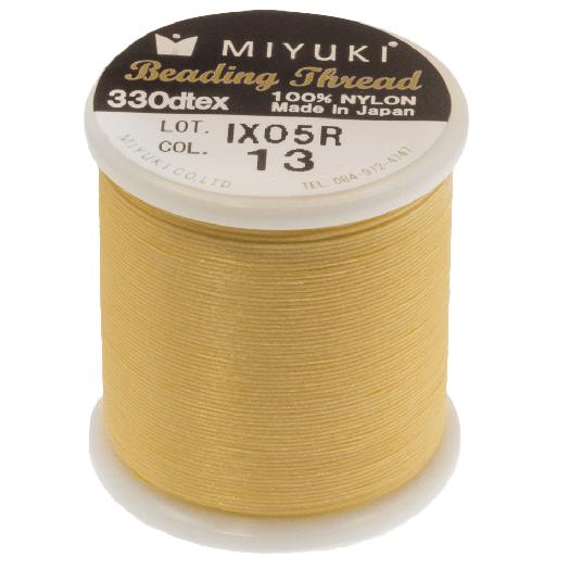 Miyuki Draad (50 Meter) Yellow