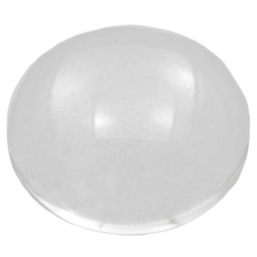 Cabochon (14 mm) Transparent (10 Stuks)