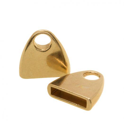 Eindkapje (Binnenmaat 10 x 2.4 mm) Gold (5 Stuks)