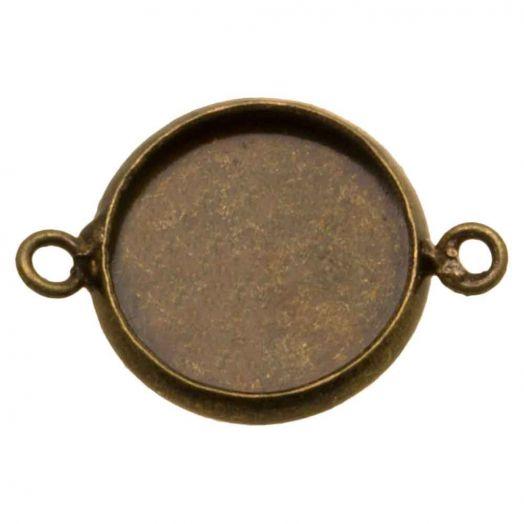 Setting 2 Ogen (12 mm) Brons (5 Stuks)