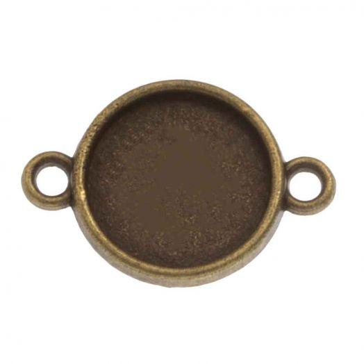 Setting 2 Ogen (12 mm) Brons (10 Stuks)