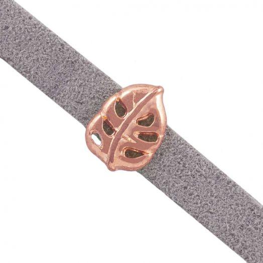 Schuiver (Binnenmaat 5 x 2 mm) Rose Goud (10 Stuks)