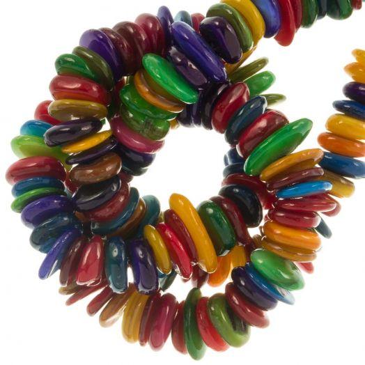 Schelp Kralen (10 - 5 mm) Mix Color (350 Stuks)