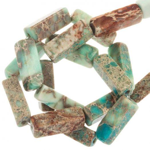 Regalite Kralen (13.5 - 14 x 4 - 4.5 x 4 - 4.5 mm) 28 Stuks