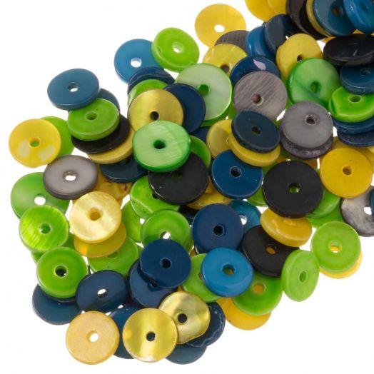 Schelp Kralen (8 mm) Mix Color (140 Stuks)
