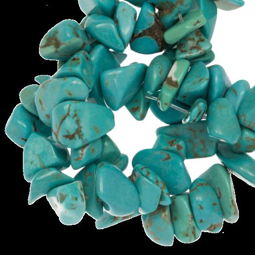 Natuursteen Chips Turquoise (5 - 8 mm) 250 stuks
