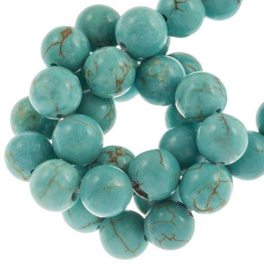 Sinkiang Turquoise Kralen (8 mm) 49 Stuks
