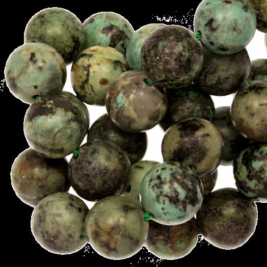 African Turquoise Kralen (8 mm) 48 Stuks