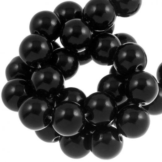 Black Stone Kralen (12 mm) 34 Stuks