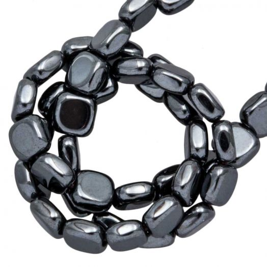 Hematite kralen (4 x 2 mm) Antracite Electroplated (85 stuks)