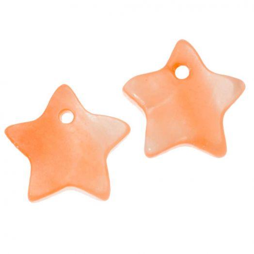 Schelp Bedel (12 mm) Orange (15 Stuks)