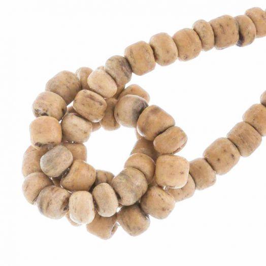 Kokos kralen (2 x 3 mm) Natural (115 Stuks)