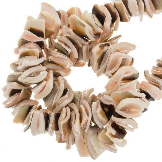 Schelp Kralen (7 - 8 mm) Exotica Luanos Shell (180 Stuks)