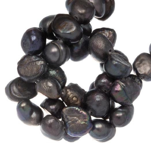 Zoetwaterparels (7-8 mm) Grey (50 Stuks)