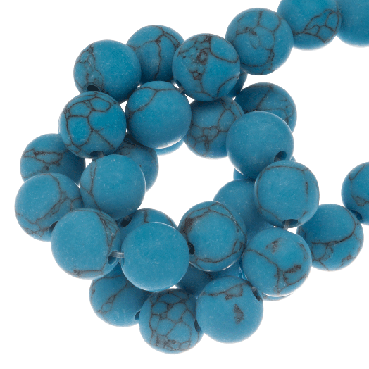 Turquoise Kralen (4 mm) 93 Stuks