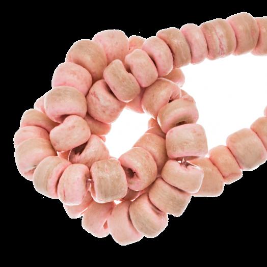 Kokos Kralen (4 - 5 mm) Candy Pink (110 Stuks)