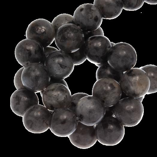 Black Labradorite Kralen (8 mm) 45 Stuks