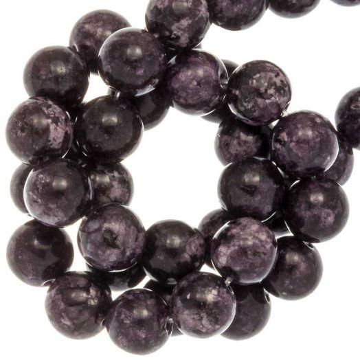 Labradorite Kralen (8 mm) Dark Grape (46 Stuks)