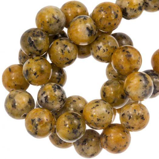 Labradorite Kralen (8 mm) Gold Brown (46 Stuks)