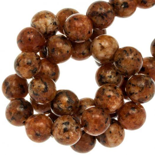 Labradorite Kralen (8 mm) Sienna (46 Stuks)