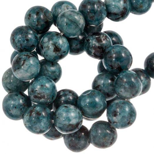 Labradorite Kralen (8 mm) Steel Blue (46 Stuks)