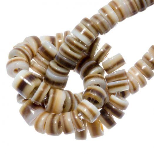 Schelp Kralen (2 - 3 mm) Voluta Shell (150 Stuks)