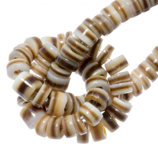 Schelp Kralen (4 - 5 mm) Voluta Shell (240 Stuks)