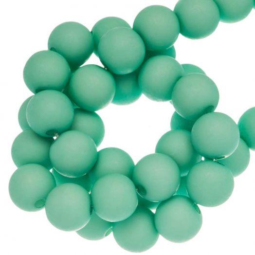 Acryl Kralen Mat (8 mm) Bright Mint Green (200 stuks)