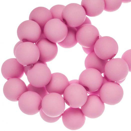 Acryl Kralen Mat (8 mm) Pink (200 stuks)