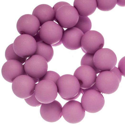 Acryl Kralen Mat (8 mm) Clear Lilac (200 stuks)