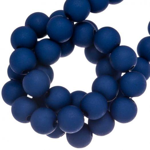 Acryl Kralen Mat (8 mm) Royal Blue (200 stuks)