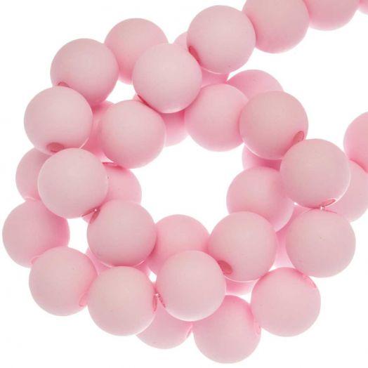 Acryl Kralen Mat (6 mm) Baby Pink (490 stuks)