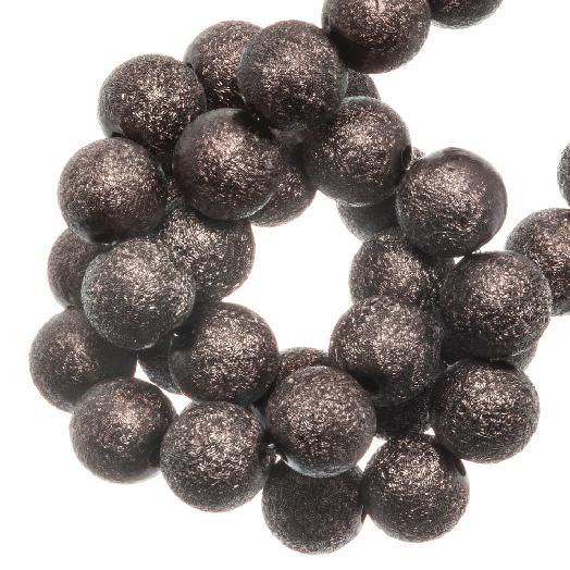 Acryl Kralen Stardust (8 mm) Chestnut (180 stuks)