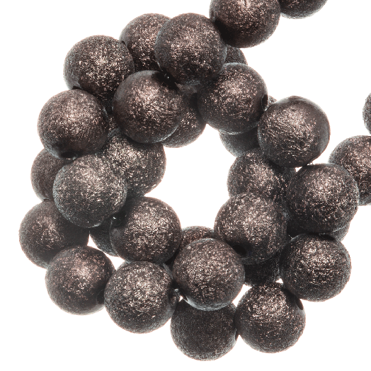 Acryl Kralen Stardust (6 mm) Chestnut (430 stuks)