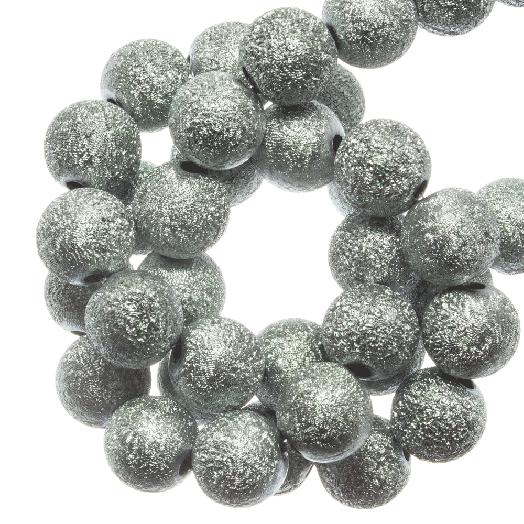 Acryl Kralen Stardust (8 mm) Ice Blue (180 stuks)