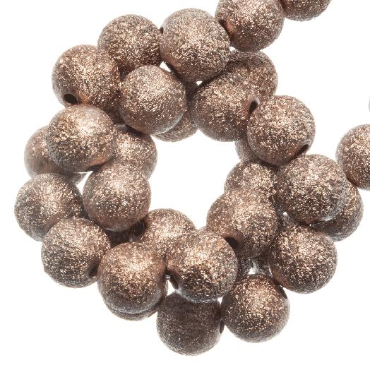 Acryl Kralen Stardust (8 mm) Sandstone (180 stuks)