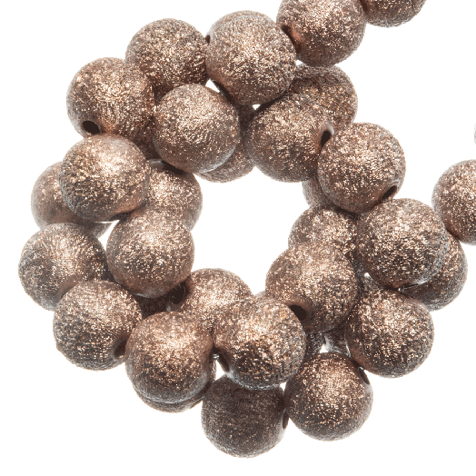 Acryl Kralen Stardust (6 mm) Sandstone (430 stuks)