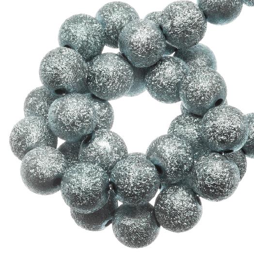 Acryl Kralen Stardust (8 mm) Mist Blue (180 stuks)