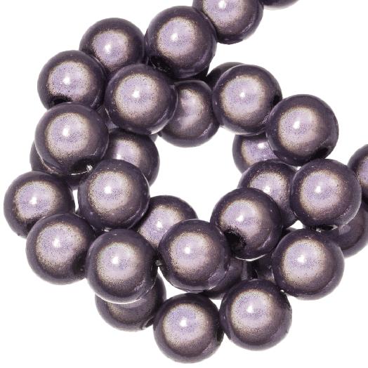 3D Kralen (8 mm) Purple Haze (90 stuks)