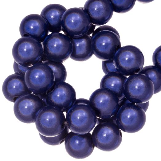 3D Kralen (8 mm) Blue Purple (90 stuks)