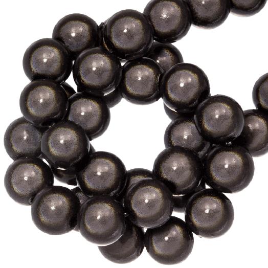 3D Kralen (8 mm) Dark Grey (90 stuks)
