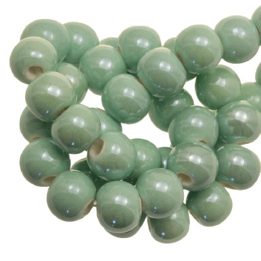 Keramiek Kralen (6 mm) Mint Green (25 Stuks)