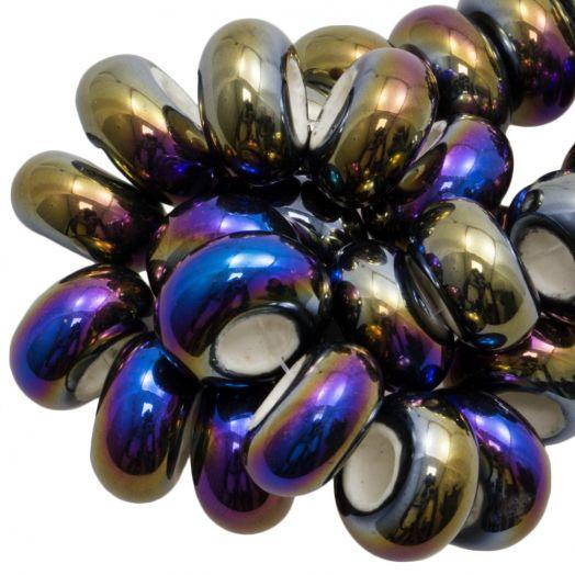 Keramiek Kralen Groot Gat (16 x 8 mm) Multi Color (15 Stuks)
