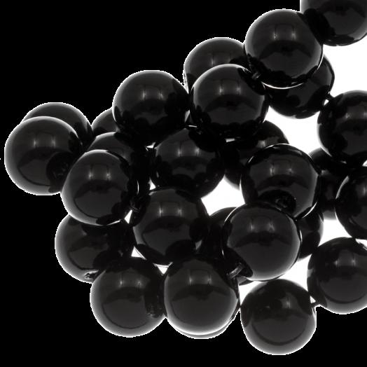 Glasparels (6 mm) Black (160 Stuks)