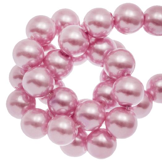 Glasparels (10 mm) Pink Blush (88 Stuks)