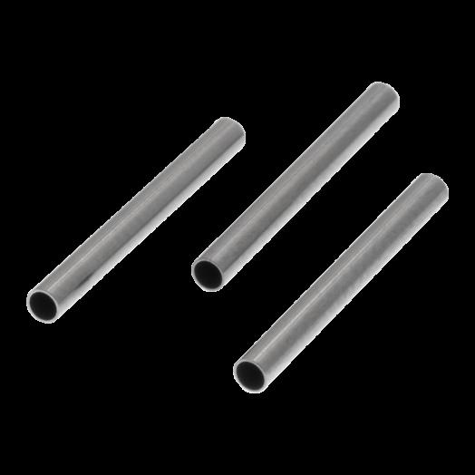 Stainless Steel Buisje (15 x 1.5 mm) Antiek Zilver (25 stuks)