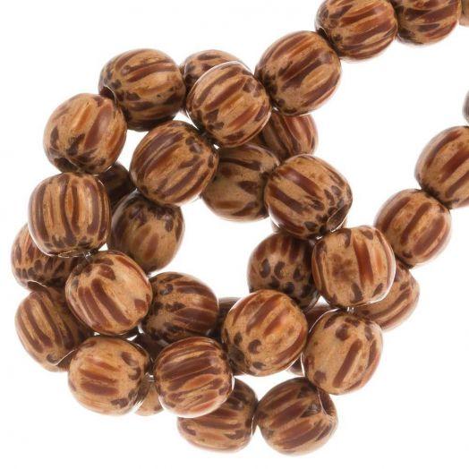 Houten Kralen Natural Look (6 mm) Palmwood (75 stuks)