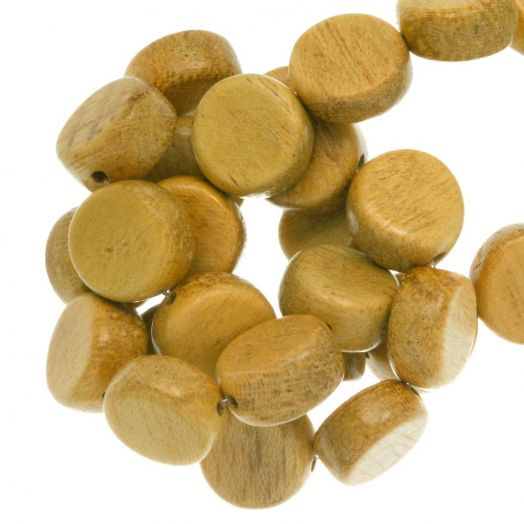jackfruit color beads wood