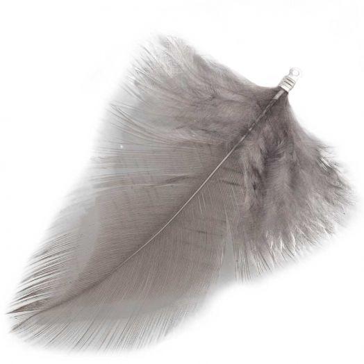 Veertjes (7 cm) Warm Grey (10 Stuks)