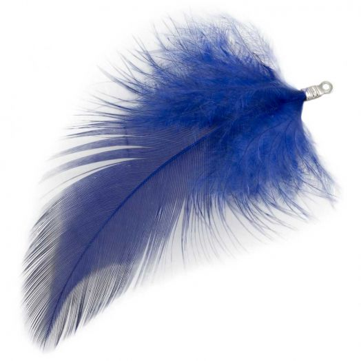 Veertjes (7 cm) Royal Blue (10 Stuks)